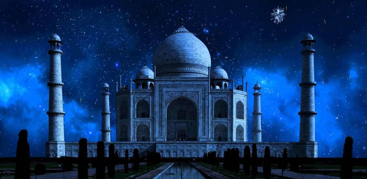 Taj Mahal Night View