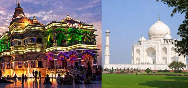 Two Days Weekend Tour of Agra, Mathura and Vrindavan