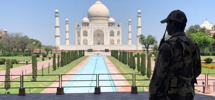 Taj Mahal Security